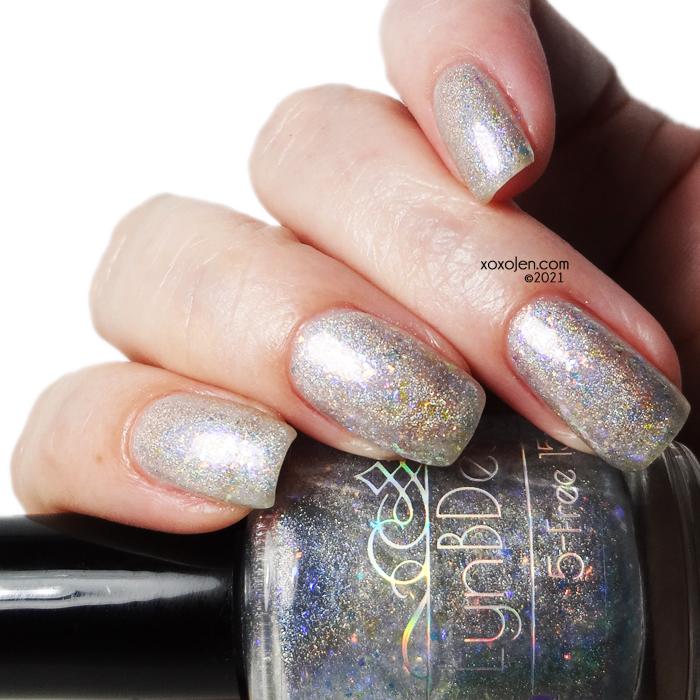 xoxoJen's swatch of LynB Designs Opal
