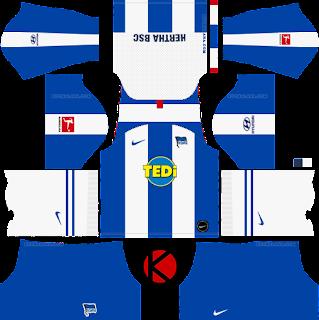 Hertha BSC Kits 2019/2020 - Dream League Soccer Kits