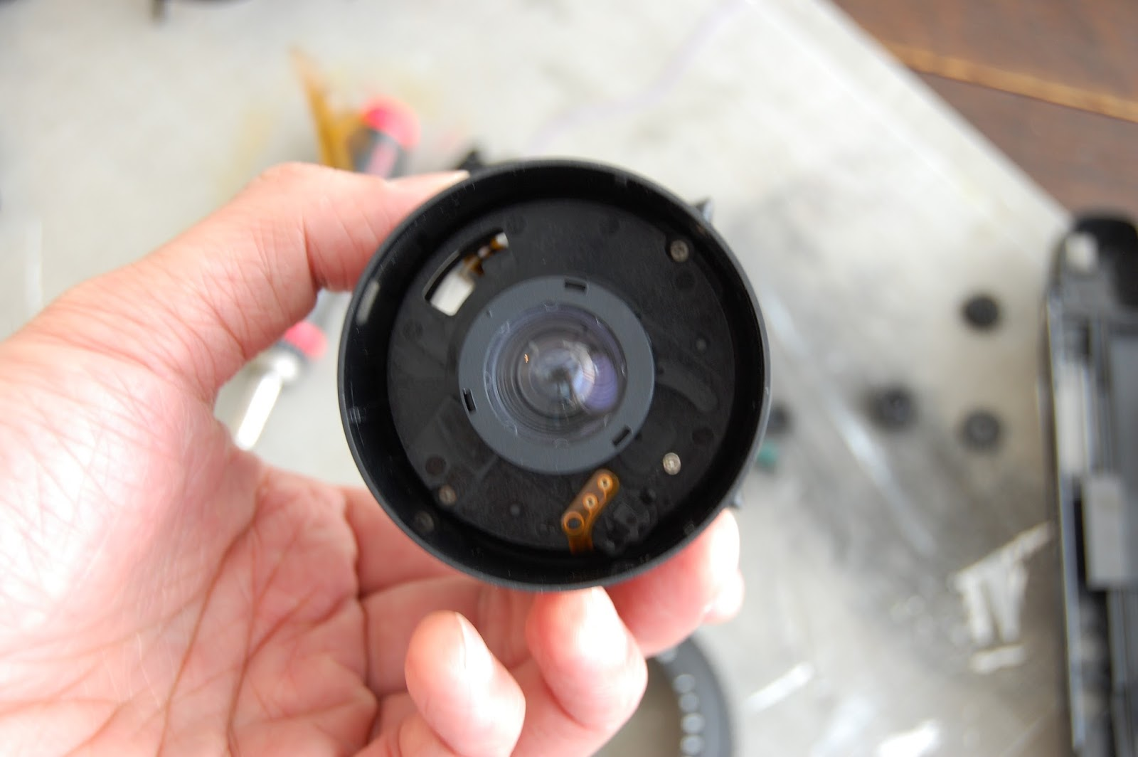 The Shutter Goes Click With Jj Lee Cameramods A Video On How I Put Hacks And Mods Diy Led Camera 10 As You Can See Barrel Has Lots Of Crap Inside It Had To Get Rid In My First Try Used Hack Saw