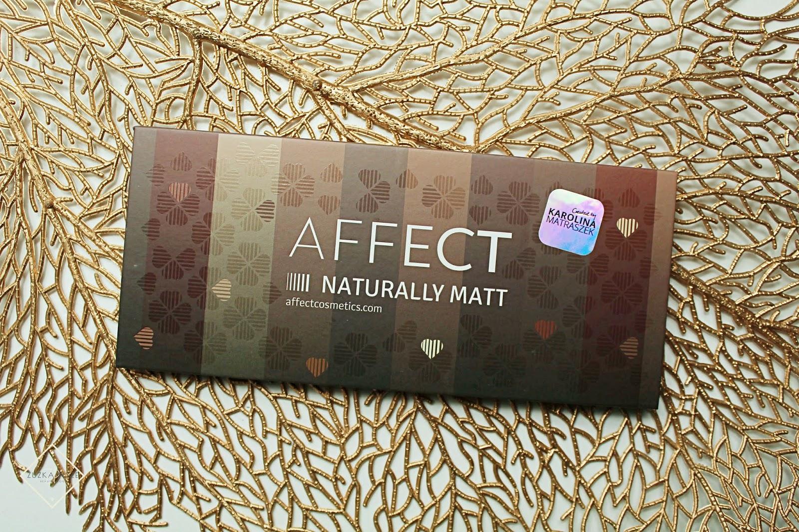 AFFECT - paleta cieni do powiek - NATURALLY MATT