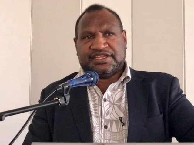 PNG PM Marape ''Running Shot of Patience'' with Twinza Oil Ltd