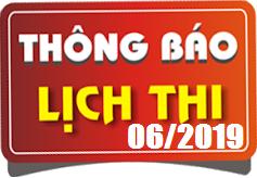 Lịch thi sát hạch lái xe ô tô B1, B2, D, E tháng 06/2019 tại Hà Nội