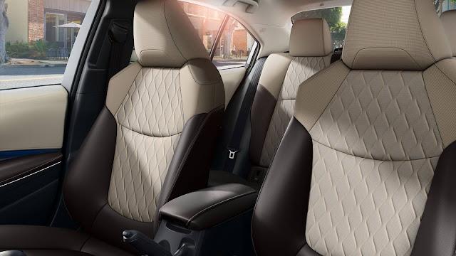 Novo Corolla 2020 - interior