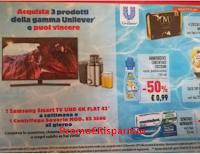 Logo Acquista 3 prodotti Unilever e vinci Smart TV e Centrifughe Severin