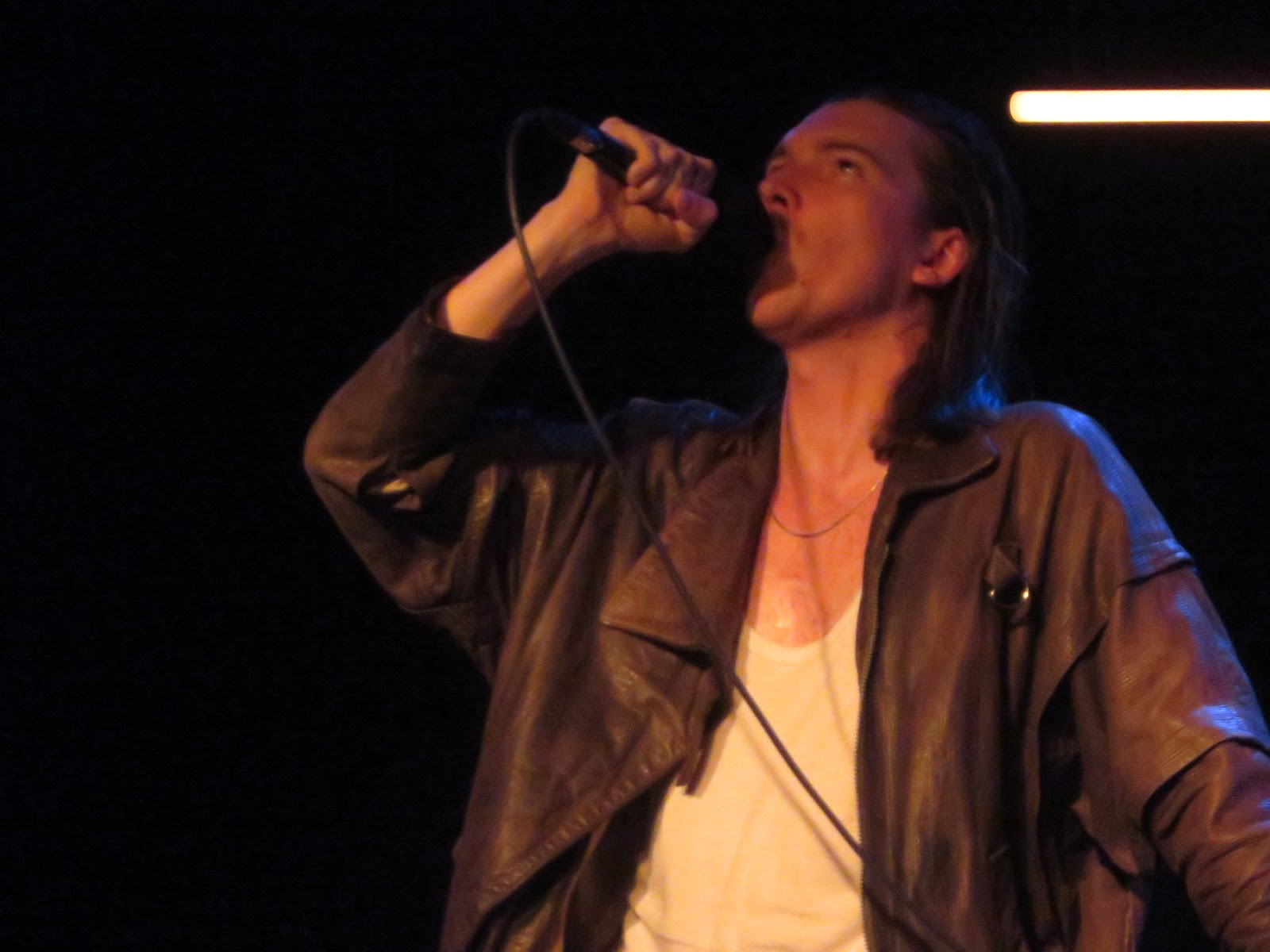 ronald says memoirs of a music addict on stage alex cameron