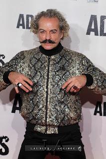 Antonio Albella, en la Premiere de Adiós