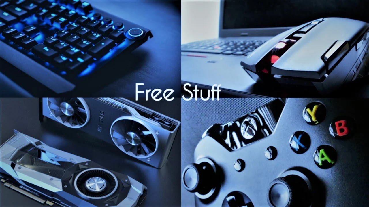 how to get free PC attachments