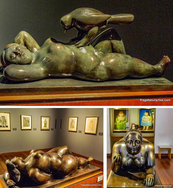 Vênus, esculturas de Fernando Botero