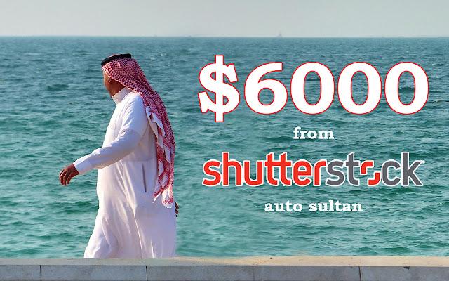 Mendadak sultan hanya karena main desain  dan dijual di shutterstock