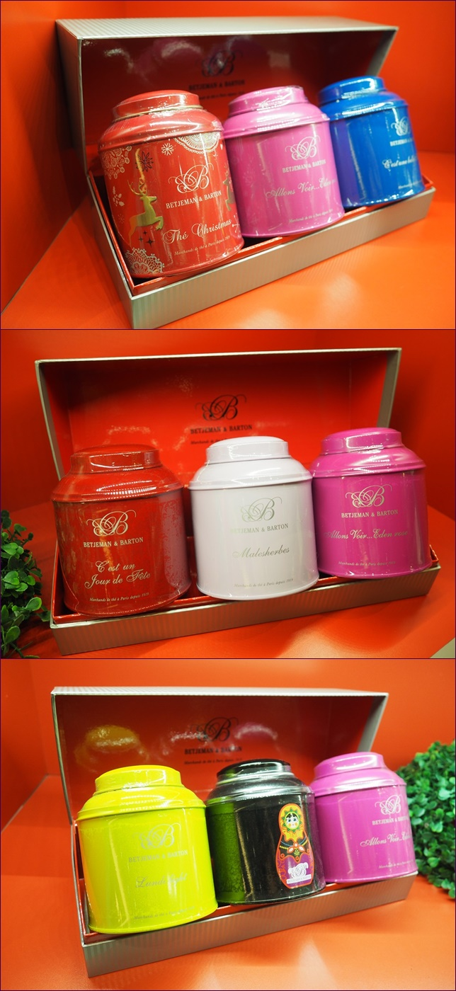 Betjeman & Barton Pretty Tea Canisters Makes Great Gift For Any Tea Lovers