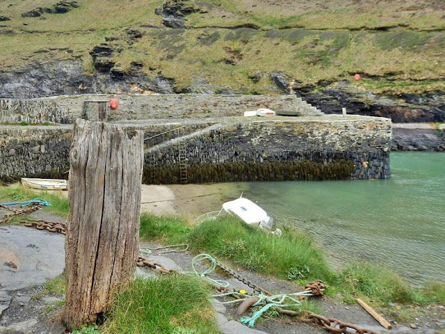 The old harbour at Boscastle, Cornwall