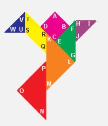 huruf (A, B, C, D, dan seterusnya) di setiap sudut pada tangram www.simplenews.me