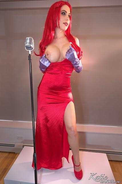 Katie banks jessica cosplay big naked boobs hot