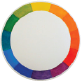 Learn to paint a color wheel using watercolor.