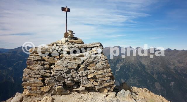 Rutas por Pirineos. Pic de Casamanya en Andorra.