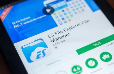 ES File Explorer for IOS.