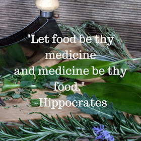 quote for healthy living and eating