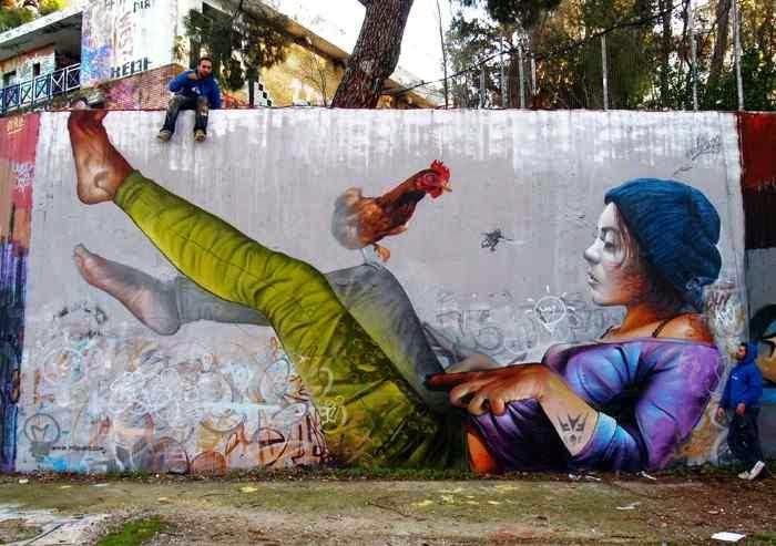 Испанский стрит-арт дуэт. Pichi & Avo (street art)