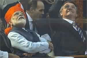India celebrates 71st Republic Day Jair Bolsonaro with Narendra Modi