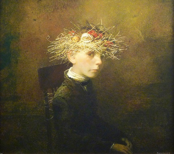 "arte contemporáneo, pinturas, ""Winter Crown"" by Igor Melnikov, 2011."