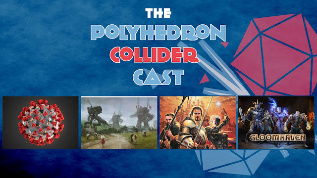 Polyhedron Collider Episode 81: Scythe, Lords of Waterdeep and Netrunner