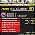 IBT Admissions 2017 Bachelors Masters & PhD Degree Programs Test Date