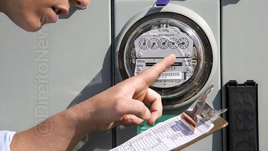 consumidor pagar debito irregularidades medidor energia