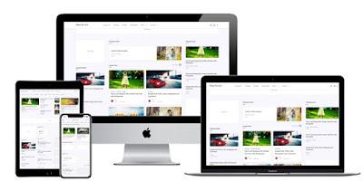 Giao diện UI Fletro Pro 3 Column v5.4 Blogger Template Free Premium