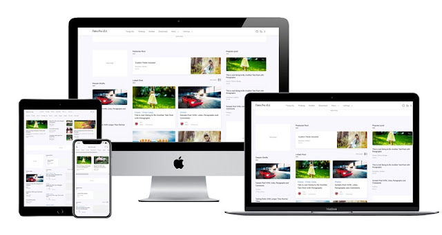 Fletro Pro 3 Column v5.4 Blogger Template Free Premium
