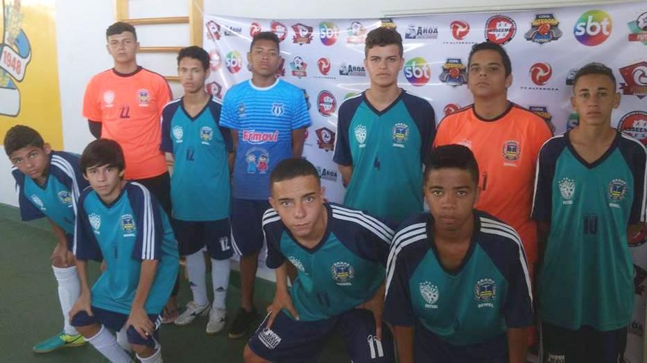 89500bacbe A equipe de Futsal Masculino Sub 15 da Secretaria de Esportes de Varginha –  SEMEL – já está classificada para a segunda fase da Copa Alterosa de Futsal  de ...