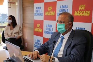 Bahia vive uma 2º onda da Covid-19, confirma secretário da saúde