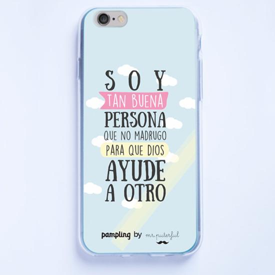 Mr. Buena Persona - carcasa 10€ (sólo 8€ con el código TIESO20)