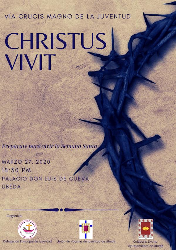 Úbeda acoge el Vía Crucis Magno de la Juventud «Christus Vivit»