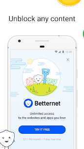 Betternet VPN Premium v5.4.0 Paid APK