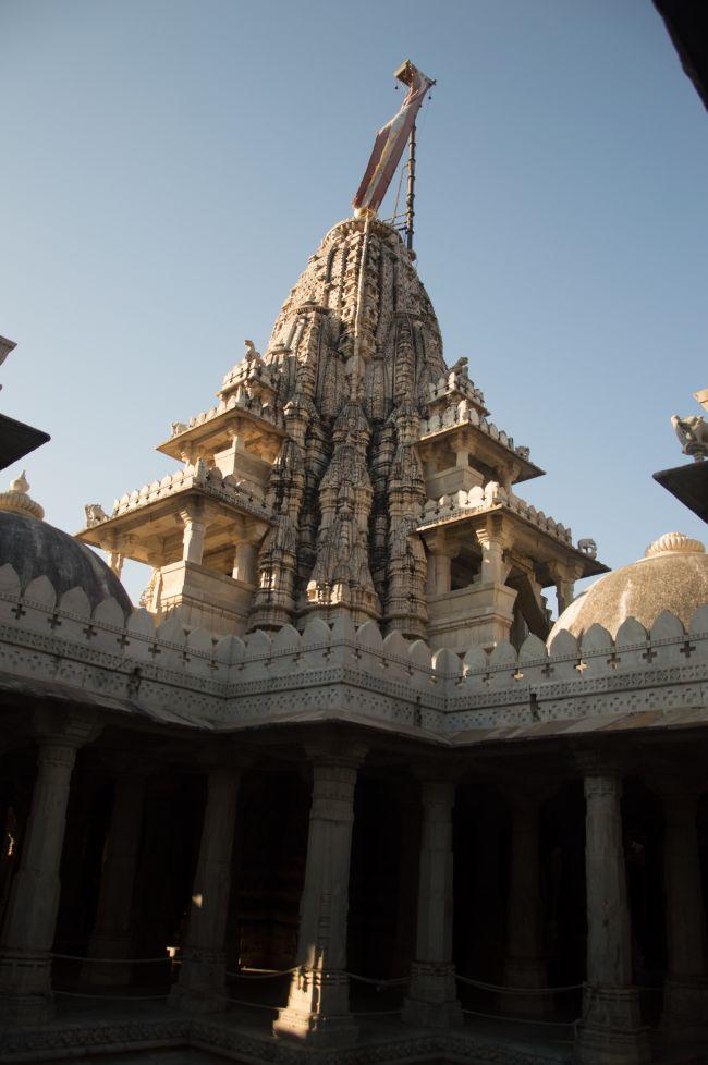 Shikhar or spire of Ranakpur Jain Mandir