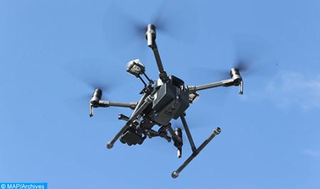 فلاحة الجيل الثاني توظف طائرات بدون طيار خدمة للفلاحين