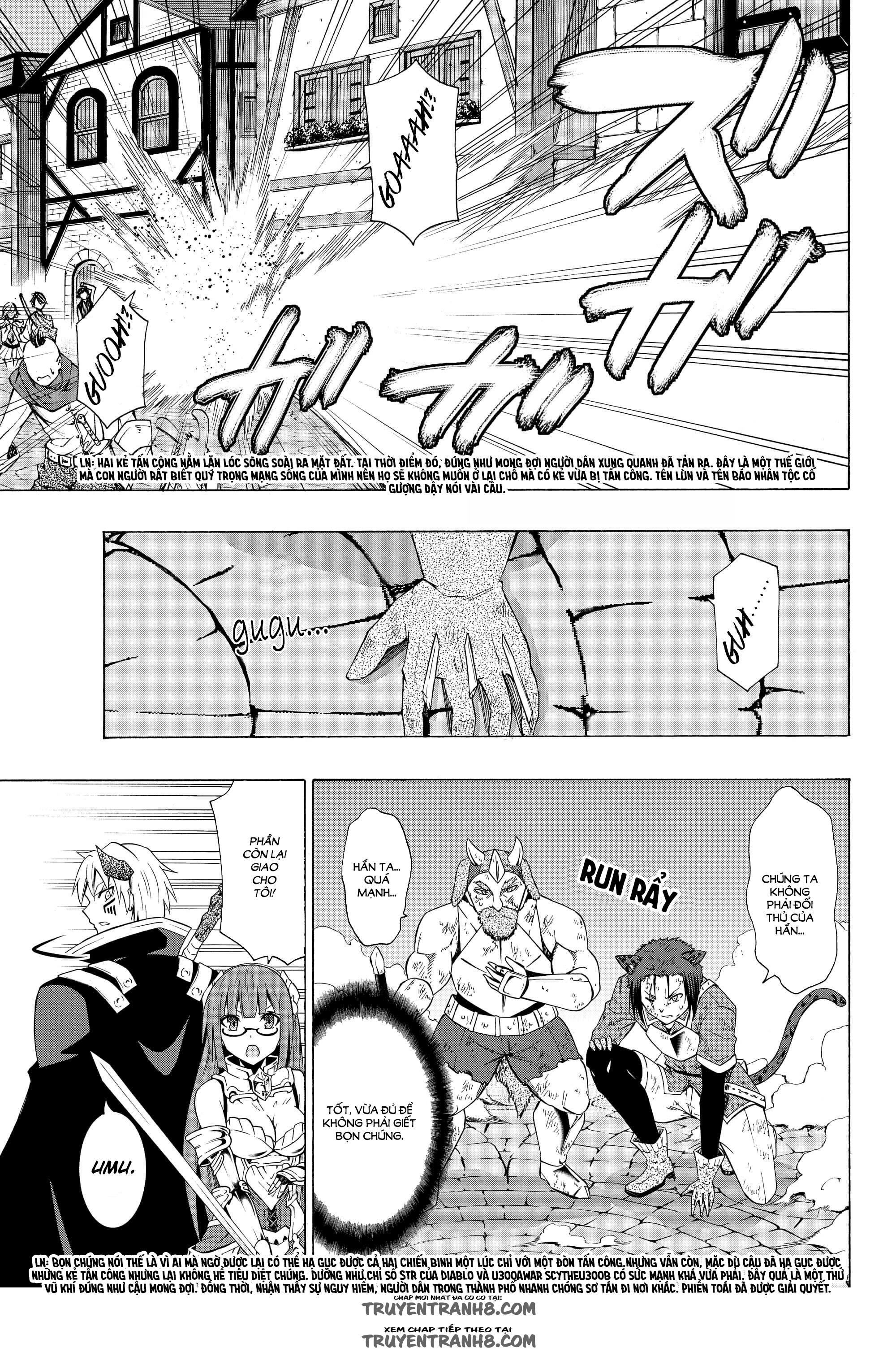 Isekai Maou to Shoukan Shoujo Dorei Majutsu chap 27.5 page 6 - IZTruyenTranh.com