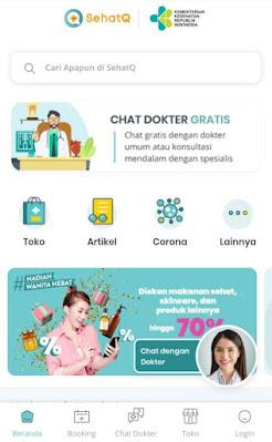 Sehatq dot com situs terkait kesehatan