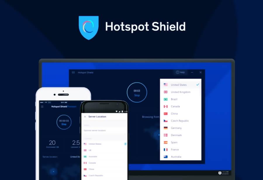 برنامج HotspotShield VPN