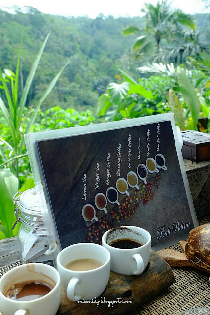 coffee tasting in bali