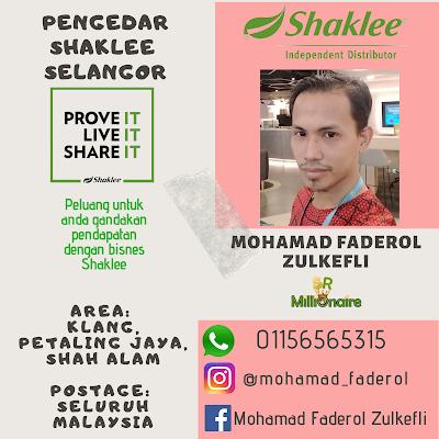 Pengedar Shaklee Petaling Jaya 01156565315