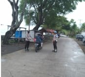 Personil Polsek Marbo Gencar Melakukan Patroli Dan Himbauan Prokes