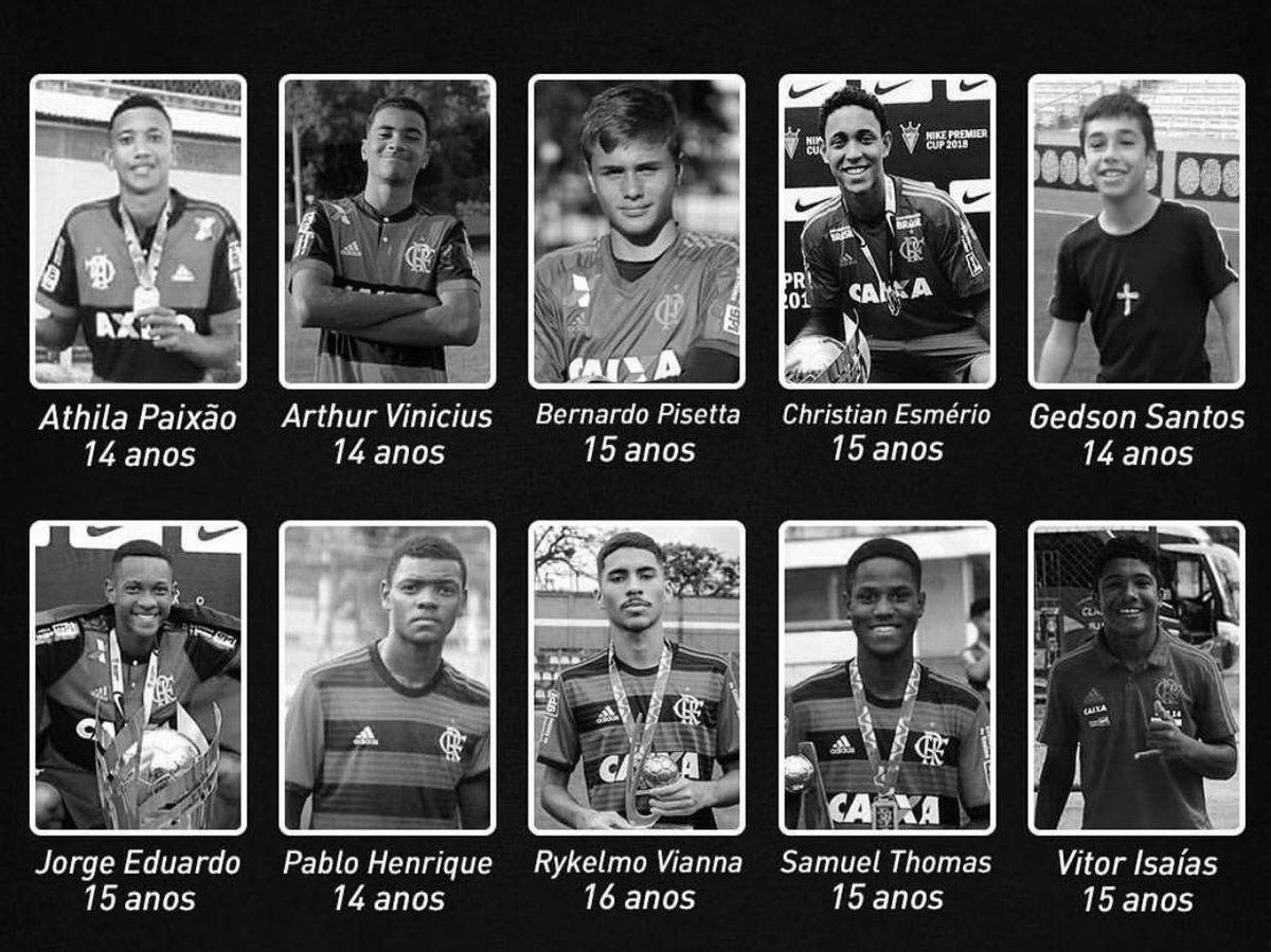 Daftar Pemain Muda Klub Flamengo