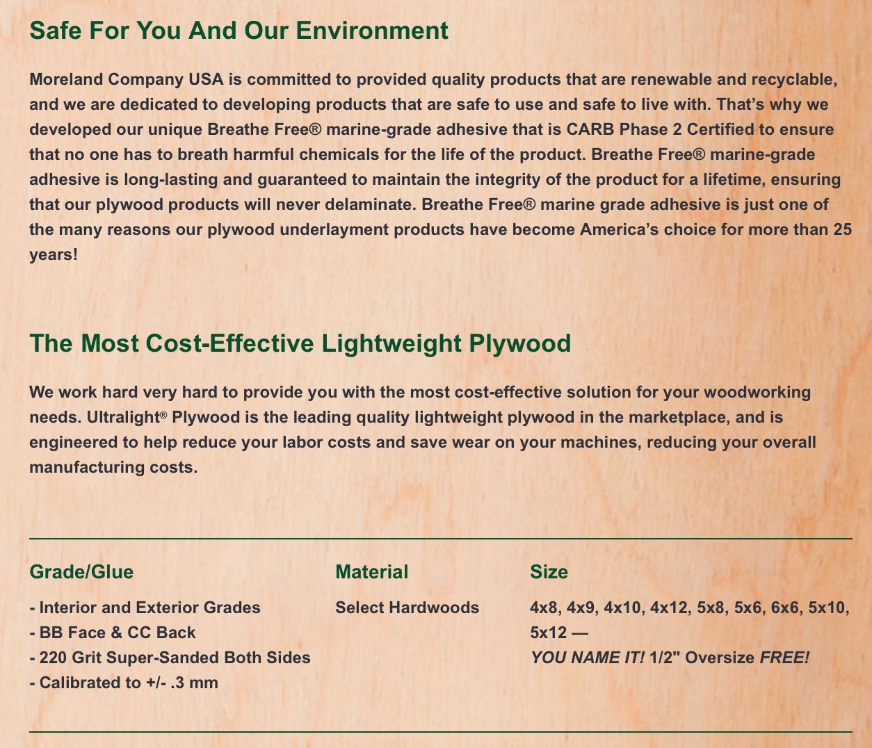 UltraLight by Moreland Company USA | Rethinking Retail