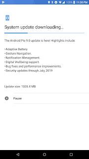Android 9.0 Pie changelog - Razer Phone