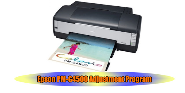 Epson PM-G4500 Printer Adjustment Program