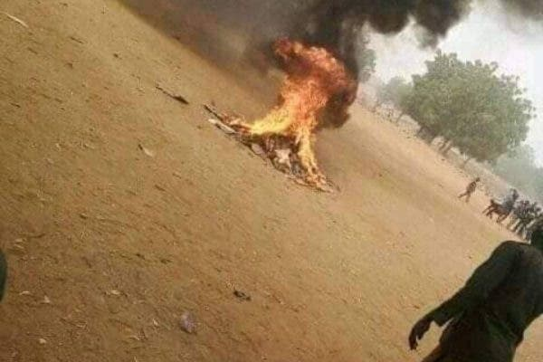 Man beaten and Burnt to death for Insulting Prophet Mohammed