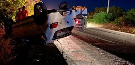 Colisão entre carro e moto deixa três pessoas feridas na AL-220 entre Distrito de Piau e São José da Tapera