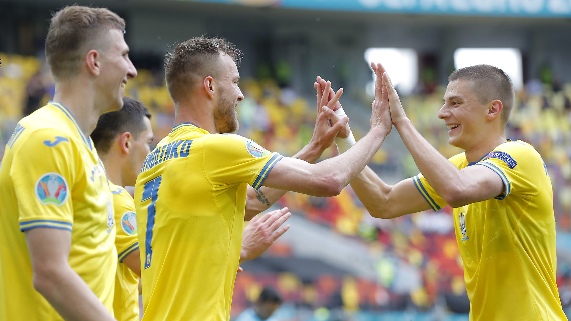 Ukraine will be hoping to hold onto their second position in Group C