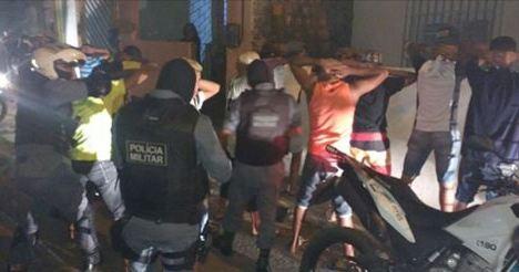 PM do Maranhão invade festa do Bonde dos 40 e prende suspeitos de ataques criminosos